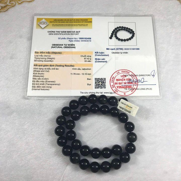 Kiểm định đá obsidian