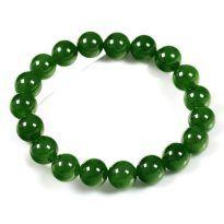 Vòng Ngọc Bích (Nephrite Jade) tự nhiên - Bao gồm giấy kiểm định đá quý