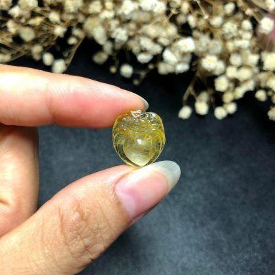Nhện đá thạch anh tóc vàng vongda5a.com