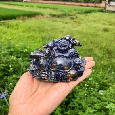 Tượng di lặc đá Sapphire
